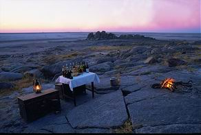 Luxury African Safaris - Kubu Island Safari | Luxury African Safari Vacations | Classic Africa