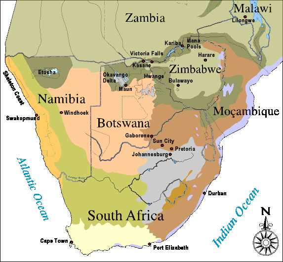 Biomes Of Africa. Africa#39;s major iomes (or